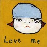 dont-cry-tears-love-me-1993-yoshitomo-nara