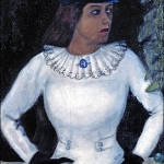 my-fiancee-in-black-gloves-1909-mark-chagall
