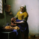 the-milkmaid-by-johannes-vermeer