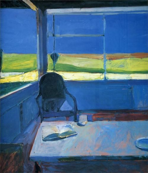 Interior with Book.Richard Diebenkorn